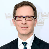 Photo of Hans Lindblad, Director General of the Swedish National Debt Office.