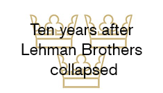 Ten years after Lehman Brothers collapsed
